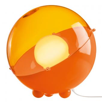 Bodenleuchte ORION solid orange/transparent orange solid orange/transparent orange
